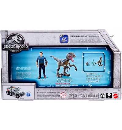 Jurassic World Velociraptor Blue /& Owen Figure Pack Mattel FMM51