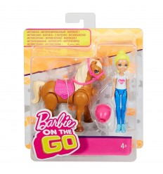 Barbie club Chelsea Bambola con pony marrone FHV60/FHV63 Mattel-Futurartshop.com
