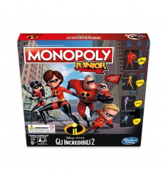 Monopoly junior the Incredible 2 E17811030 Hasbro- Futurartshop.com