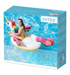 Intex unicorn rideable inflatable 201 cm 57561NP Intex- Futurartshop.com
