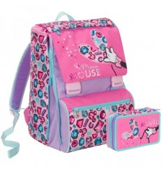 Schoolpack Backpack more case of Minnie jewel 6C5001801 351 Seven- Futurartshop.com