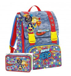 Schoolpack DC Superhero Girls Backpack most case 6D2001801 599 Seven- Futurartshop.com