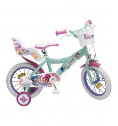Bike 16 Shimmer and Shine BIM1669 Toimsa- Futurartshop.com