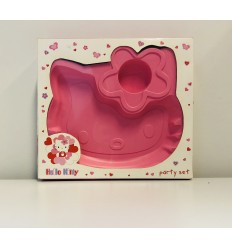 Platos con forma de Hello Kitty New Bama Party- Futurartshop.com