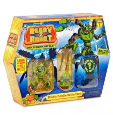 Ready2Robot Battle Pack - Double Trouble RED01000/2 Giochi Preziosi- Futurartshop.com