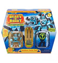 Ready2Robot Battle Track - Beat Down RED01000/4 Giochi Preziosi- Futurartshop.com