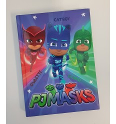 Diario standard pj masks into the night to save the day 74330A/7449 -Futurartshop.com