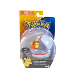 Pokemon clip and carry poke ball - Growlithe T18532/T19138 Tomy-Futurartshop.com