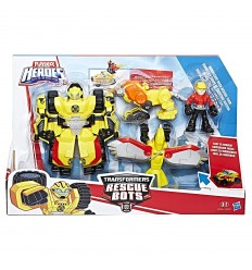 Transformers Rescue Bots - Bumblebee rock rescue team C0212EU40/C0296 Hasbro-Futurartshop.com