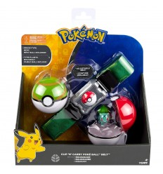 Pokemon clip n carry poke ball Cintura - Bulbasaur T18889/T19204 Tomy-Futurartshop.com