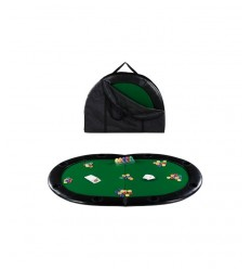 Mesa de Poker Texas Hold ' em, tablero de piel 02170 Dal Negro- Futurartshop.com