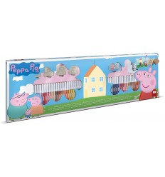 Peppa Pig - Box with 60 markers, and 4 stamps T18875 Multiprint- Futurartshop.com