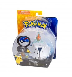 Pokemon throw'n'pop personaggio rotom con mega ball T18873/T19114 Tomy-Futurartshop.com