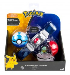 Pokemon clip n carry poke ball Cintura - Squirtle T18889/T19205 Tomy-Futurartshop.com