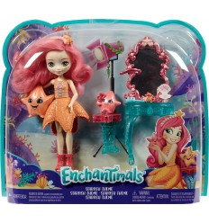 Enchantimals mare personaggio starling la stella marina idyl e rypple FKV58/FKV59 Mattel-Futurartshop.com