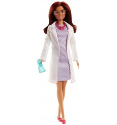 Barbie in carriera scienziata DVF50/FJB09 Mattel-Futurartshop.com