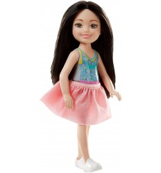 Barbie club chelsea mini personaggio ragazza con top blu DWJ33/FHK92 Mattel-Futurartshop.com