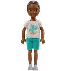 Barbie chelsea club mini character guy with white shirt DWJ33/FHK94 Mattel- Futurartshop.com