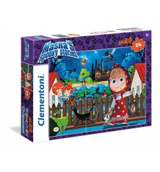 Puzzle maxi masha's spooky stories 24 pieces 24493 Clementoni- Futurartshop.com