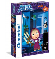 Puzzle maxi masha's spooky stories 104 pieces 23711 Clementoni- Futurartshop.com