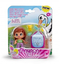 Pinypon brune aux-pignons et de surprise 700014088/26242 Famosa- Futurartshop.com