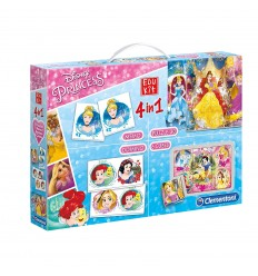 Edukit 4 in 1 disney princess 13256 Clementoni-Futurartshop.com