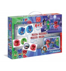 Edukit 4 in 1 pj masks 18013 Clementoni-Futurartshop.com