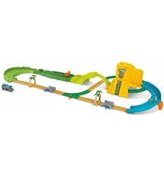 The train Thomas and the Pipe, the speed in Jungles set FJK50 Mattel- Futurartshop.com