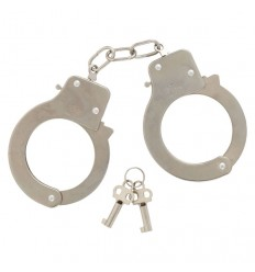 Handcuffs in metal with opening safety RDF50785 Giochi Preziosi- Futurartshop.com