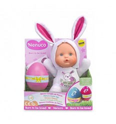 Nenuco rabbit easter white with surprise egg 700014210/25889 Famosa- Futurartshop.com