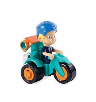Rusty rivets mini veicolo con personaggio turbo bytes 6041628/20097174 Spin master-Futurartshop.com