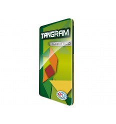 Tangram travel magnetico in metallo 6037175 Spin master-Futurartshop.com