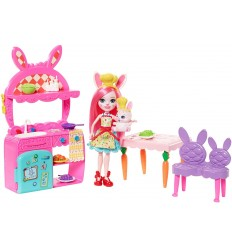 Enchantimals - Apprentices in the kitchen bunny and twist FRH44/FRH47 Mattel- Futurartshop.com