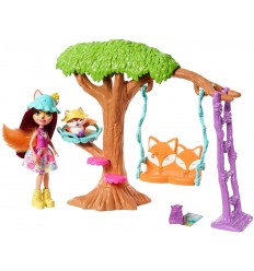 Enchantimals - Parchetto delle avventure Fox e Flic FRH44/FRH45 Mattel-Futurartshop.com