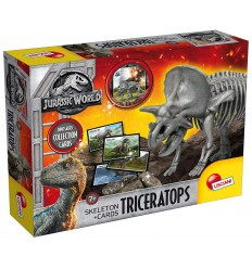 Jurassic world triceratops skeleton con cards 68210-B Lisciani-Futurartshop.com