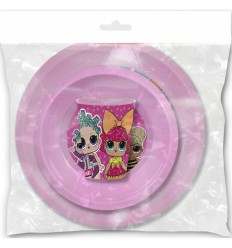 LoL Surprise - Set pranzo 3 pezzi S-44310 -Futurartshop.com