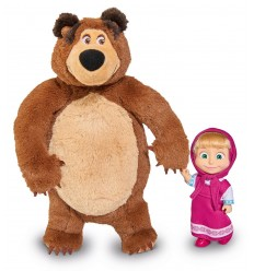 Pack mini doll masha with the bear plush 109301002Y04 Simba Toys- Futurartshop.com