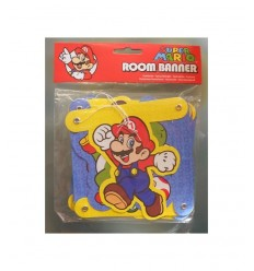 Bandierine Super Mario New Party CMG205053 CMG205053 Como Giochi -Futurartshop.com