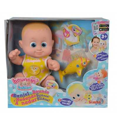 Bouncin Babies Benny The Floating Dolphin Simba Toys