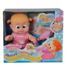 Bouncin Babies Bonny floating with dolphin 105143214/1 Simba Toys- Futurartshop.com