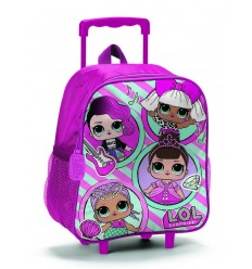 Lol Surprise Zaino Trolley Asilo B98556 - Futurartshop.com
