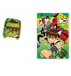 Ben 10 - Plaid in Pile 8300252007218 Cerdà-Futurartshop.com