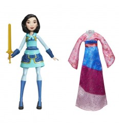 Disney Princess Doll Mulan fearless adventures E1948EU40 Hasbro- Futurartshop.com