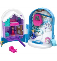 Polly-Pocket - Playset Secrets of the snow FRY35/FRY37 Mattel- Futurartshop.com