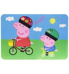 Placemat in pvc peppa pig 29 x 43 cm 48619 - Futurartshop.com