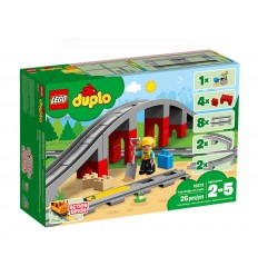 Lego 10872 bridge and train tracks duplo 10872 Lego- Futurartshop.com