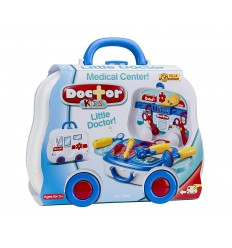 carrying case with wheels, my little big dreams doctor kids VIL7040 Villa Giocattoli- Futurartshop.com