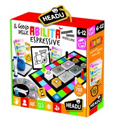 The game of skill and expressive with 120 cards quiz IT21284 Headu- Futurartshop.com