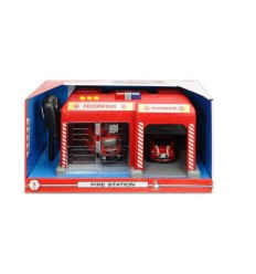 Sos fire station with lights and sounds 203716013038 Simba Toys- Futurartshop.com