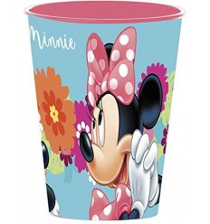 Vidrio de PVC de minnie 260 ml WON23707 Cerdà- Futurartshop.com